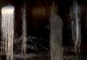 """Waterfall of the Fundiments"" by Pat Steir"