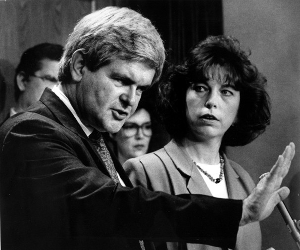 Newt's Ex-wife Unloads: 'He Wanted An Open Marriage'