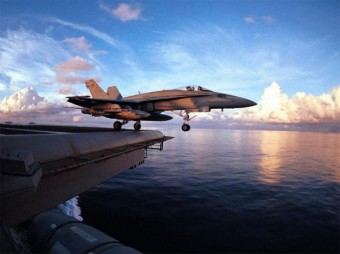 fighter-plane-on-take-off-from-aircraft-carrier