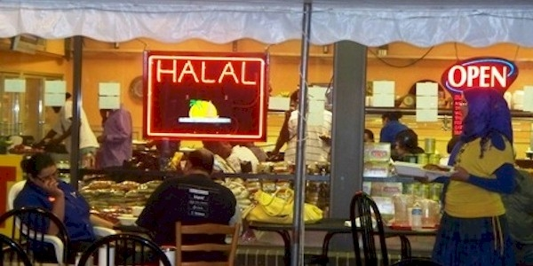 Halal restaurants are common throughout Europe and in some heavily Muslim areas of the U.S.