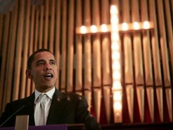 Former President Obama has said he is a practicing Christian