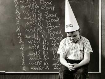 school-brainwash-dunce