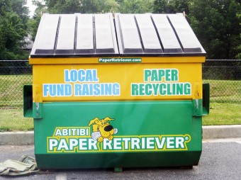 recycling-dumpster