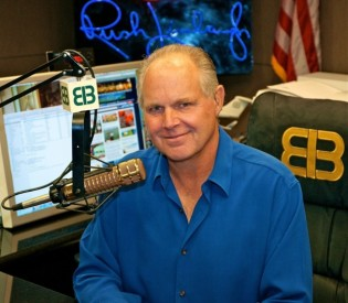 Talk-radio host Rush Limbaugh