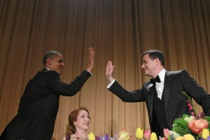 President Obama and Jimmy Kimmel