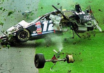 National Association  Stock  Auto Racing Crash on Nascar Crash
