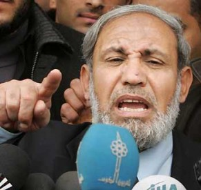 Hamas chief Mahmoud al-Zahar