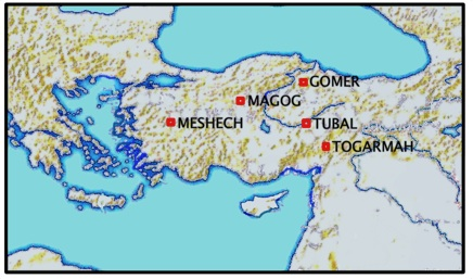 Gog And Magog Map The truth about Gog and Magog   WND Gog And Magog Map