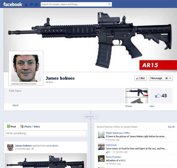 Facebook Sickos Praise Colorado Killer