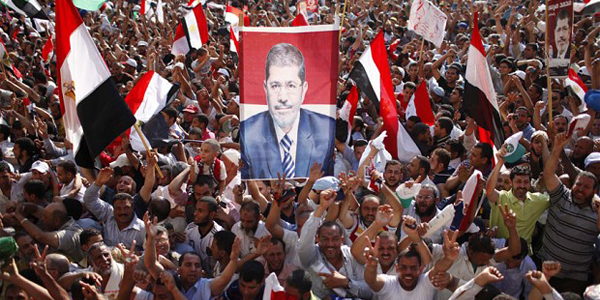 Egypt's President Morsi Muslim Brotherhood leader