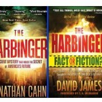 Critic�s book cover mimics best-selling �Harbinger�