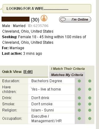 muslim dating site spoof