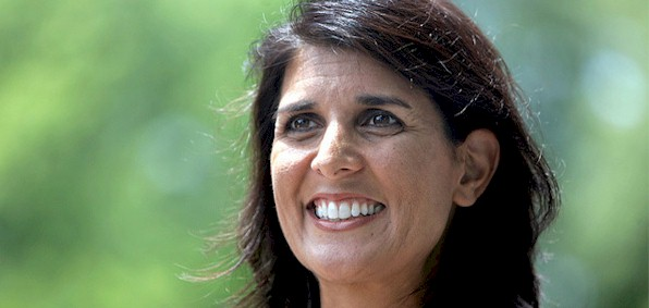 Gov. Nikki Haley of South Carolina says she trusts the federal government's vetting process on refugees even though the FBI says it has no reliable data with which to screen Syrian refugees.