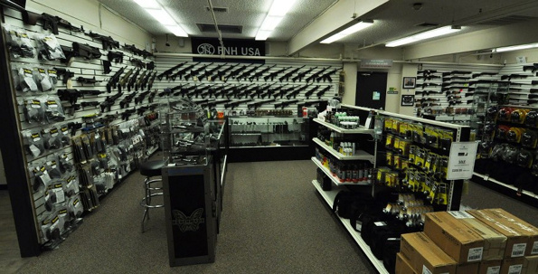 Gun Stores Bare Walls And Lines Wnd