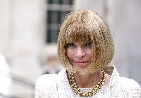 Vogue editor and fashion guru Anna Wintour