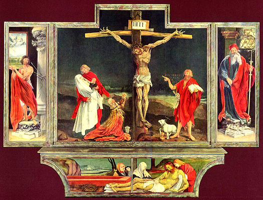 Grunewald Isenheim Altarpiece God changes liv...