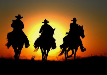 cowboys-sunset