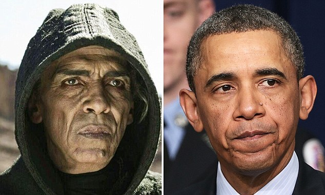 "Some are comparing Satan from ""The Bible"" TV miniseries with President Obama."