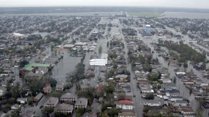 Flooding from Hurricane Katrina