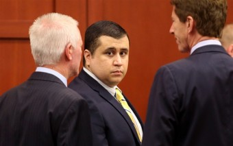 George Zimmerman, center, is on trial for the murder of Trayvon Martin.