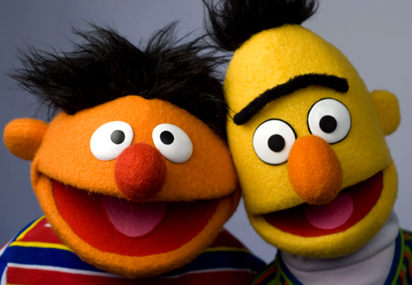 bert and ernie cuddle over doma ruling