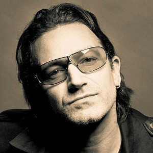 U2 s Bono  a k a  Paul Hewson  U2 Bono 2013