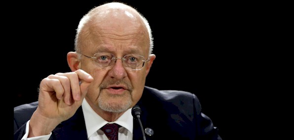 James Clapper, as director of national intelligence, was in charge of 16 federal agencies.
