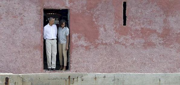 Historians obama s door of no return a scam for Door of no return