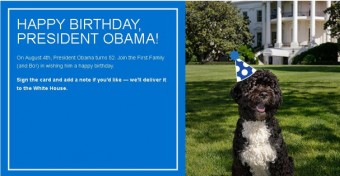 Send president your birthday wishes have you ever wanted to send barack obama a happy birthday wish or a birthday message m4hsunfo