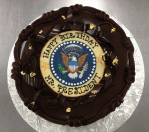Send president your birthday wishes first two years in office delivered a birthday cake to obama when he arrived on capitol hill wednesday for a closed door meeting with senate democrats m4hsunfo