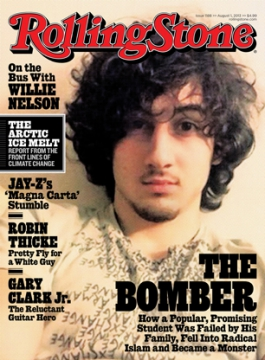 Rolling Stone puts Boston bombing suspect on cover