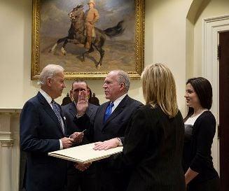 John Brennan was sworn in as CIA director in March 2013