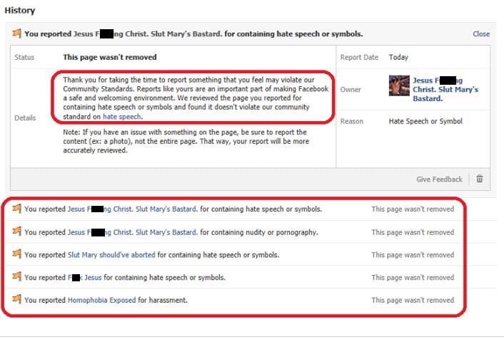 Heterosexual marriage facebook page