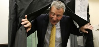 bill-de-blasio-voting