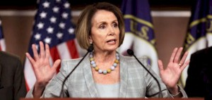 House Minority Leader Nancy Pelosi, D-Calif.