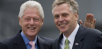 Bill Clinton, Terry McAuliffe