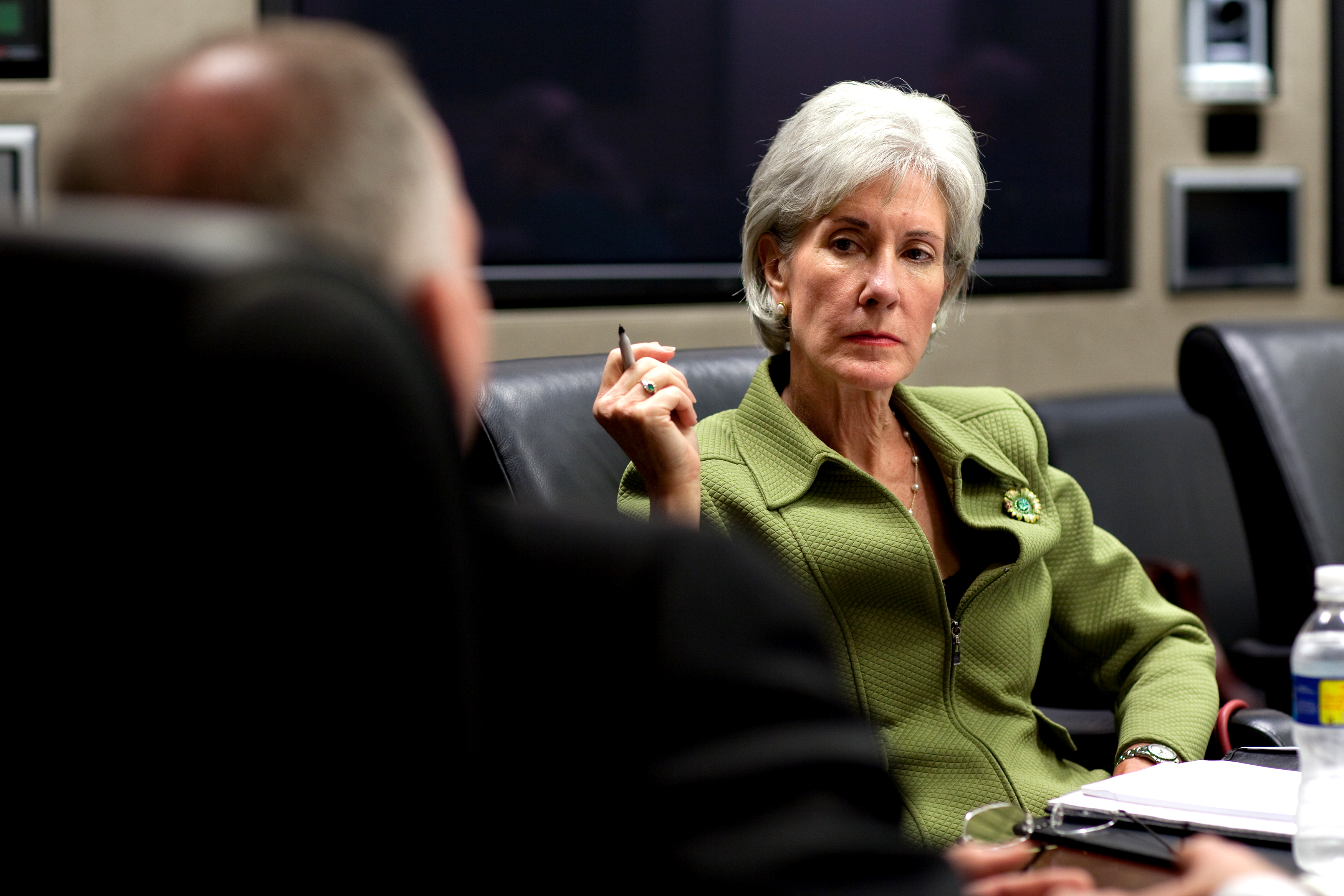 Look Who Sebelius Just Threw Under The Bus ...