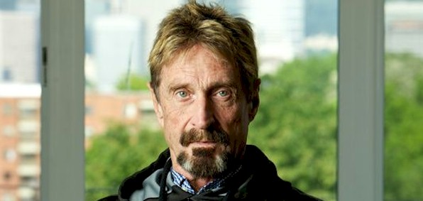 Image for 'John McAfee makes shocking sex claim'