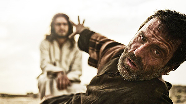 "The Messiah appears to the Jewish man Saul, who later became known as Paul. (image from ""The Bible"" TV series)"