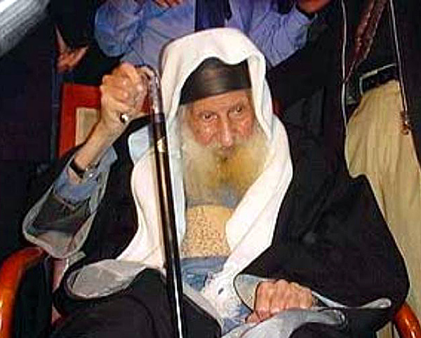 Rabbi Yitzhak Kaduri claims to have met the Messiah in vision.
