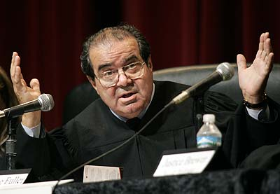 Late U.S. Supreme Court Justice Antonin Scalia