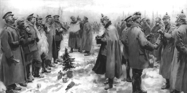 1914 Christmas Eve Truce during World War I