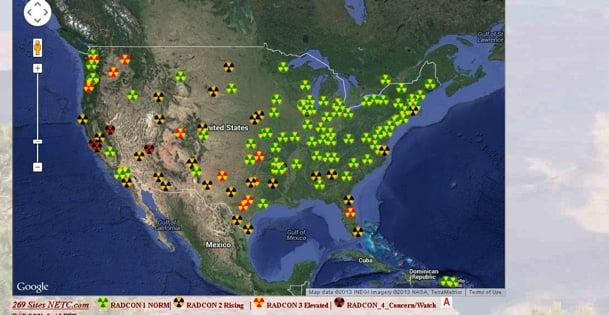 Radiation1212131 Radiation Alerts Hit U.S. Cities