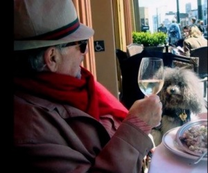 Michael Savage and his dog, Teddy