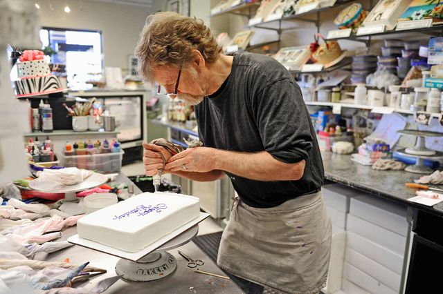 Jack Phillips, owner of the Masterpiece Cakeshop in Lakewood, Colo., cited conflicting religious beliefs when he declined in July 2012 to bake a cake for a gay couple's wedding reception. Photo/Denver Post