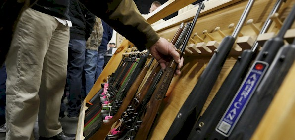 Mere presence of gun prompts no-knock raid