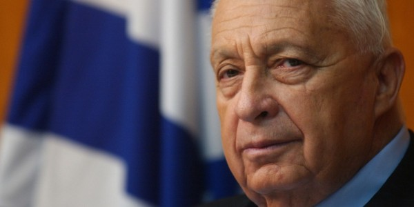 The late Israeli Prime Minister Ariel Sharon