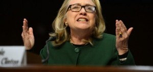 "Former Secretary of State Hillary Clinton replying ""What difference does it make?"" when asked what caused the attack on Benghazi by a Senate committee Jan. 23, 2013"