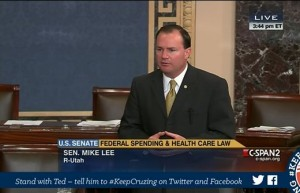 Mike-Lee-filibuster-Obamacare