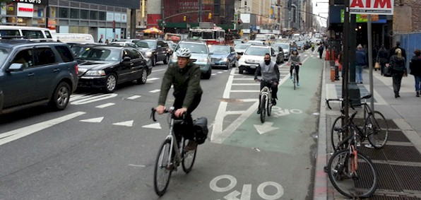 Commuter cyclists breathe brunt of harmful pollution